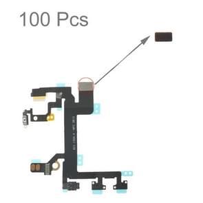 100 stuks spons schuim Pad voor iPhone 5S Power knop Flex kabel