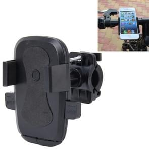360 Degree Rotation Bicycle Phone Holder for iPhone 6 / iPhone 5 & 5C & 5S / iPhone 4 & 4S  Clip Size: 45mm-72mm(Black)