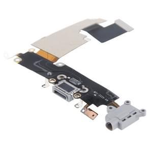 Opladen van Port Dock Connector Flex kabel vervanging voor iPhone 6 Plus(Grey)