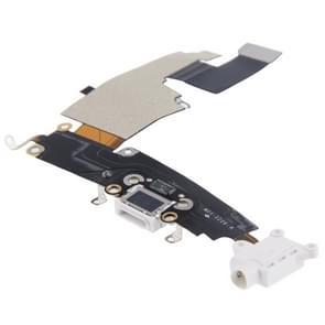 Opladen van Port Dock Connector Flex kabel vervanging voor iPhone 6 Plus(White)