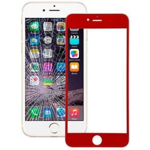 Voorste scherm buitenste glaslens voor iPhone 6 Plus (rood)