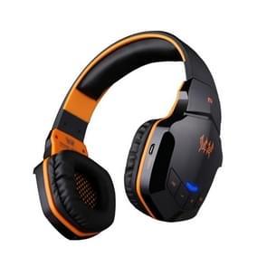 KOTION elk B3505 Wireless bluetooth 4.1 Stereo Gaming Headset ondersteuning NFC met Mic voor Iphone 6 / Iphone 6 Plus / Samsung / HTC, Sony (Zwart + Oranje)
