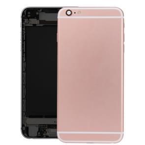 Batterij terug dekken vergadering met Kaarthouder voor iPhone 6s (Rose goud)