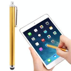 Hoog-gevoelige Touch Pen / capacitieve Stylus Pen voor iPhone 5 & 5S & 5C / 4 & 4S  iPad Air / iPad 4 / iPad mini 1 / 2 / 3 / nieuwe iPad (iPad 3) / iPad 2 / iPad en alle Capacitieve Touch Screen (Gold)(Orange)