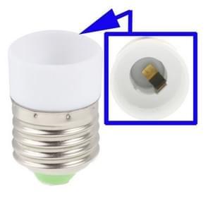 E14 naar E27 licht Lamp lampen Adapter Converter(White)