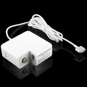 MagSafe 2 45W 14.85V 3.05A 5-pins A1436 MacBook Lichtnet Adapter Wit
