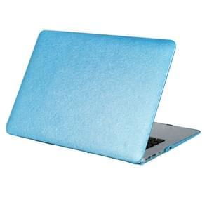 MacBook Air 13.3 inch Zijde structuur beschermende Cover met een superieure krasvastheid (blauw)