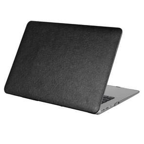 MacBook Pro 13.3 inch Zijde structuur beschermende Cover met een superieure krasvastheid (zwart)