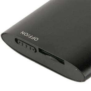 1.8 inch TFT scherm metaal MP4 speler met TF kaartslot  steun de Recorder  de Radio van de FM  E-boek en Calendar(Black)