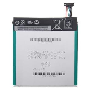 C11P1304 3950mAh oplaadbare Li-Polymer batterij voor Asus MeMO Pad HD7 / ME137X