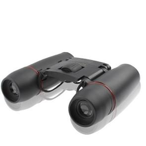 Mini Folded Field 7.2 Degree 126m / 1000m 30 x 60mm Red Multi-Coated Day Vision Outdoor Telescope Binoculars(Black)