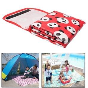 Kinderen Game deken / Baby kruipende Pad / strand Mat picknick Mat Outdoor  grootte: 170cm(L) x 155cm(W)(Red)