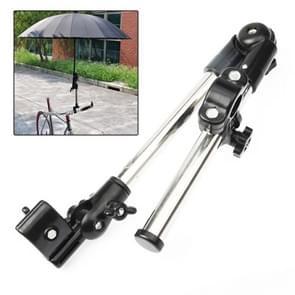 Fiets fiets rolstoel wandelwagen stoel paraplu Connector houder Mount Stand(Black)