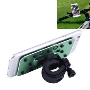 OQSPORT Multi-function Universal 360 Degree Rotatable Mobile Phone Bicycle Holder with Little Suckers(Green)