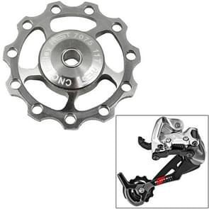 AEST Aluminium Jockey wiel achterderailleur katrol  A-06(Silver)