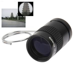 2.5 x 17.5 Mini monoculaire duim vinger zak Telescope(Black)