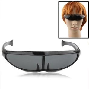 UV400 Bescherming sport zonnebrillen voor Outdoor sporten (zwart)