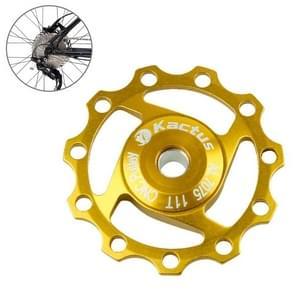 KACTUS aluminium Jockey wiel achterderailleur katrol SHIMANO SRAM 11T(Gold)