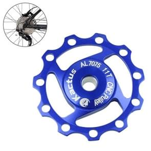 KACTUS Aluminum Jockey Wheel Rear Derailleur Pulley SHIMANO SRAM 11T(Blue)