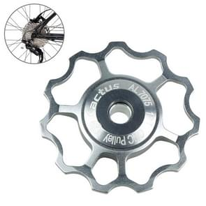 KACTUS aluminium Jockey wiel achterderailleur katrol SHIMANO SRAM 11T(Silver)