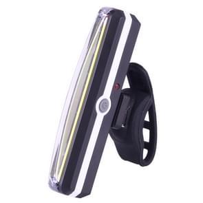 RPL-2266 5-modus 100LM USB oplaadbare fiets COB LED Taillights(White Light)