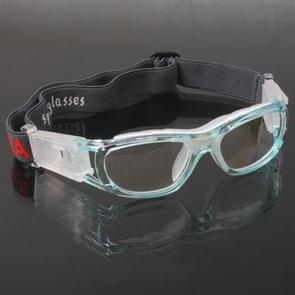 Wrap bril sport bril Eyewear voor basketbal / voetbal spel (Baby blauw)