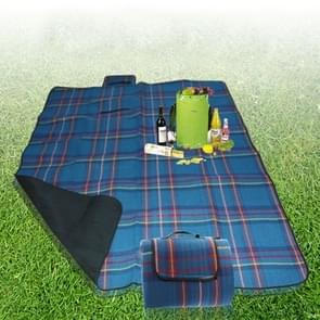 200x150cm Outdoor Beach Camping Mat Picnic Blanket(Blue)