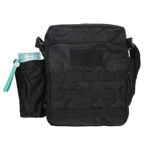 Militaire waterdichte hoge dichtheid de zak van de schouder van de stof van de sterke Nylon met waterkoker Bag(Black)