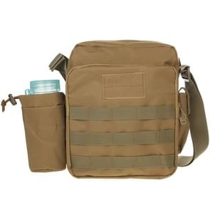 Military Waterproof High Density Strong Nylon Fabric Shoulder Bag with Kettle Bag
