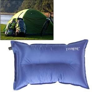 Outdoor Camping Automatic Air Pillow Camping Pillow Sleeping Bag Cushion for Leaning on Pillow  Random Color Delivery