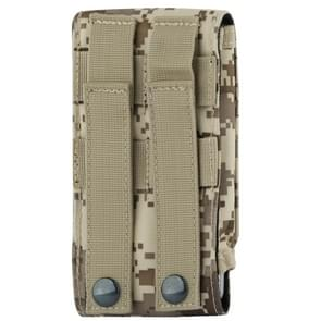 Stylish Outdoor Water Resistant Fabric Cell Phone Case  Size: approx. 17cm x 8.3cm x 3.5cm (Camouflage)