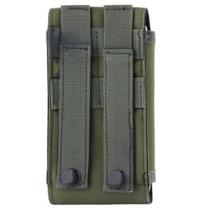 Stijlvol buiten Water bestendig stof Cell Phone Case  grootte: ca. 17 x 8 3 cm x 3 5 cm (Army Green)