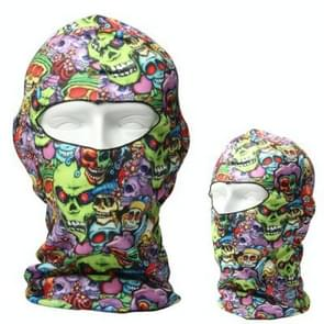 Multifunctional Outdoor Head Skull Face Mask