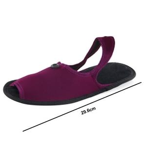 Outdoor Folding draagbare Slippers  Afmeting: L (Scarlet rood)