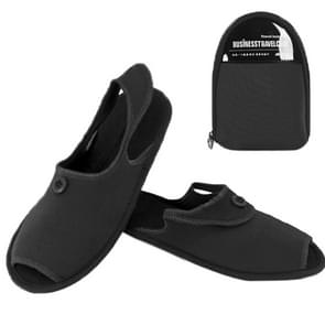 Outdoor Folding draagbare Slippers  Afmeting: L(zwart)