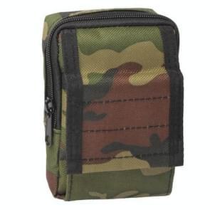 Multifunctionele waterdichte accessoires tas Diversen zakken belangrijke mobiele telefoon taille tas Pouch hoes voor Outdoor-activiteiten (leger-groen)