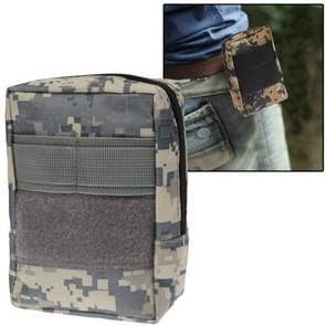 800D Waterproof Fabrics Waist Bag for Investigation Tools (Camouflage)
