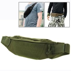 Multifunctionele Outdoor sporten met taille Pack voor mannen als Fanny Pack Bum zak Hip moneybelt (leger-groen)