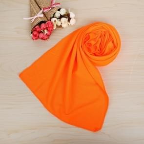 10 stuks Outdoor sporten Protable koud gevoel voorkomen zonnesteek ijs handdoek  grootte: 30*80cm(Orange)