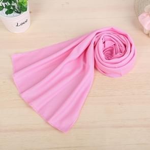 10 stuks Outdoor sporten Protable koud gevoel voorkomen zonnesteek ijs handdoek  grootte: 30*80cm(Pink)