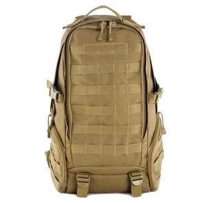 Unisex Outdoor Military Tactical Backpack Camping Hiking Rucksack(Khaki)