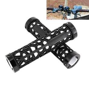 Fiets MTB fiets Lock-on Comfort Rubber Stuur Hand gestikte Grips(White)