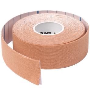 Waterdichte Kinesiologie Tape sport spieren zorg therapeutische Bandage  grootte: 5m(L) x 5cm(W)(Apricot)