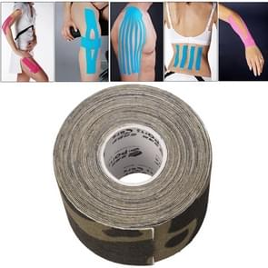 Waterproof Kinesiology Tape Sports Muscles Care Therapeutic Bandage  Size: 5m(L) x 5cm(W)