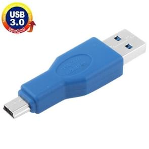 Super USB 3.0 snelheid mannetje Type A naar Mini 5-Pin USB Adapter (blauw)