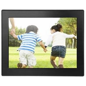 8 inch LED Display Multi-media Digital Photo Frame met houder & muziek & filmspeler  ondersteuning voor USB / SD / SDHC / MMC-kaart Input(Black)