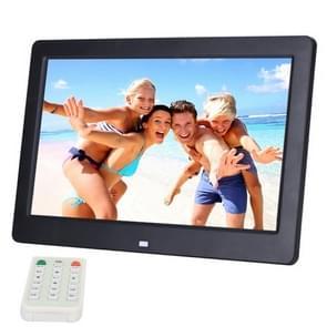 10.1 inch HD breed scherm Digital Photo Frame met houder & afstandsbediening  Allwinner E200  wekker / MP3 / MP4 / film Player(Black)