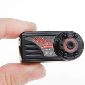 QQ6 Full HD 1080P IR Night Vision Mini DV DVR 12.0 MP Thumb Metal Camera Digital Video Recorder