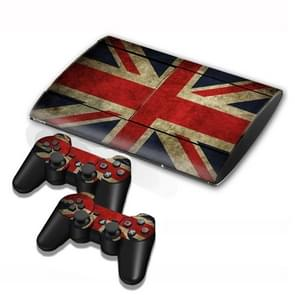 UK Vlag patroon Stickers voor PS3 Game Console