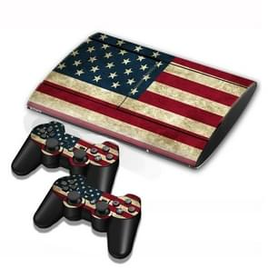 US Vlag patroon Stickers voor PS3 Game Console